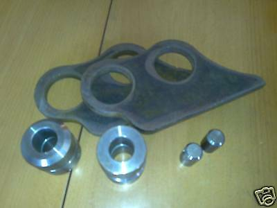 Kubota KX36 Bucket conversion bracket set