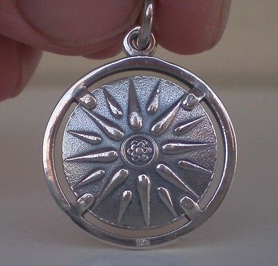 Star of Macedonia Silver Pendant 925 - Alexander the Great -Vergina Sun- Philip