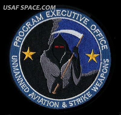 Usaf Navy Program Unmanned Aviation & Strike Weapons Uacv Predator Reaper Patch
