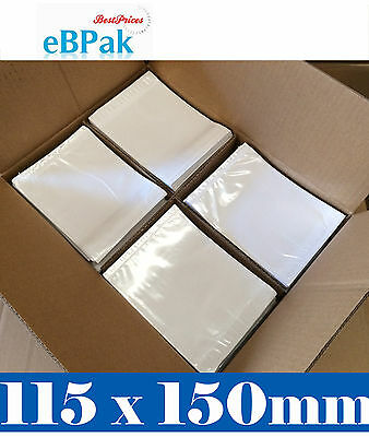 1000 Clear Window & BLANK - Document Enclosed Envelope Sticker