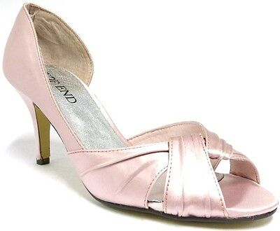 NEW $109 Top End Caidley High Heels Rose Womens Ladies Evening Races Peep Toe