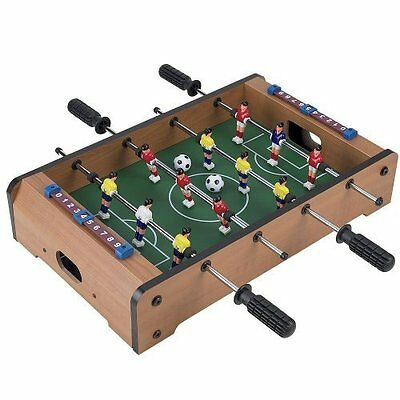 MINI TABLETOP FOOTBALL GAME FOOSBALL SOCCER TABLE (approx 50.5x30.5x9.8cm)