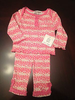 Juicy Couture Infant Girls Outfit/ Size 0-3 Months/ NWT