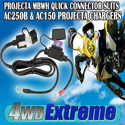 Projecta Mbwh Quick Connector Suits Ac150 & Ac250 Ac250B Battery Charger Trickle