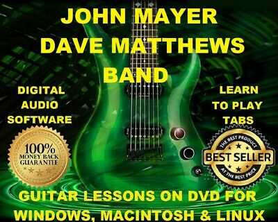 JOHN MAYER 206 Guitar Tabs Software Lesson CD, 41 Backing Tracks ...