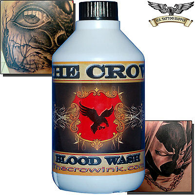 The Crow Blood (Red) Wash Tattoo Ink 300ml