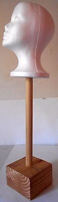 Native American Indian Headdress Stand Table mount with head 25 x 8 x 5 inch