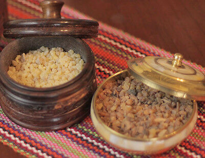 BLENDED FRANKINCENSE & MYRRH PURE RESIN INCENSE 50g Purify Protection Healing