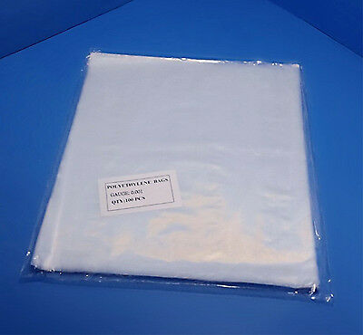 2mil Lay Flat Open Top Poly Bags Multiple Sizes