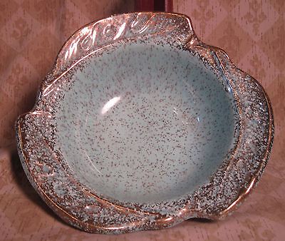 CALIFORNIA POTTERY SEA GREEN REPLACEMENT DIP DISH FOR RELISH TRAY #298