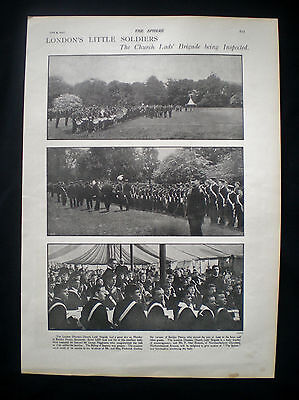 London Diocesan Church Lads Brigade / Boys Bentley Priory Stanmore Article 1900