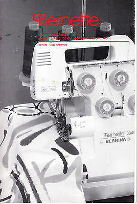 bernina 1230 instruction manual