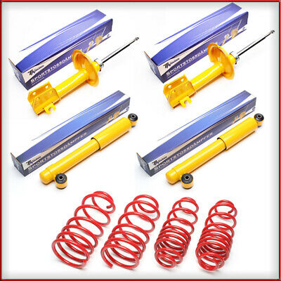 KIt Assetto Sportivo Fiat Seicento 30/30mm Sporting TA Technix Molle Ammortiz.