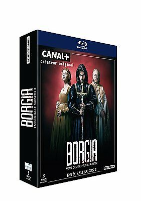 Borgia, Integrale Saison 2 Bluray Neuf Sous Cello