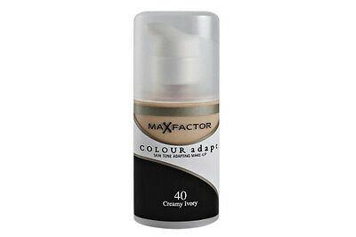 Max Factor Colour Foundation Adapt for beautiful looks World Wide Free Postage