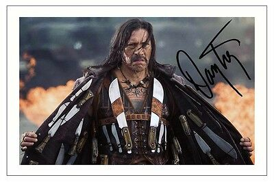 Danny Trejo Autograph Signed Machete Kills Photo Print Robert Rodriguez