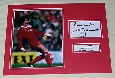 Terry Mcdermott Liverpool Hand Signed Autograph Photo Mount
