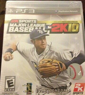 Major League Baseball 2K10 New Playstation3