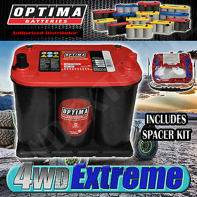 Optima Red Top Battery 12 Volt New Agm 35 720Cca Holden Commodore Vt Vy Vx Vz