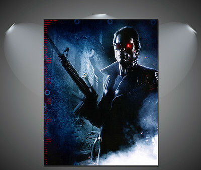 The Terminator Arnold Schwarzenegger Vintage Movie Poster - A1, A2, A3, A4 sizes