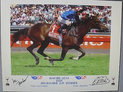 MAKYBE DIVA 2005 MELBOURNE CUP signed Print