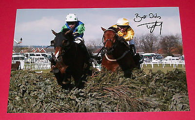 Timmy Murphy Comply Or Die Hand Signed 12X8 Photo 2008 Grand National