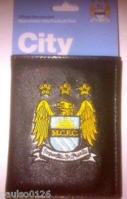 Manchester City F.C. Official Money Wallet with Embroidered Crest