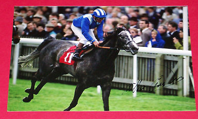 Willie Carson Racing Hand Signed Autograph Photo