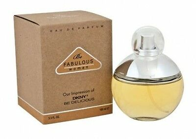 Be Fabulous Woman Perfume 3.3 Oz (An impression of DKNY Be Delicious)