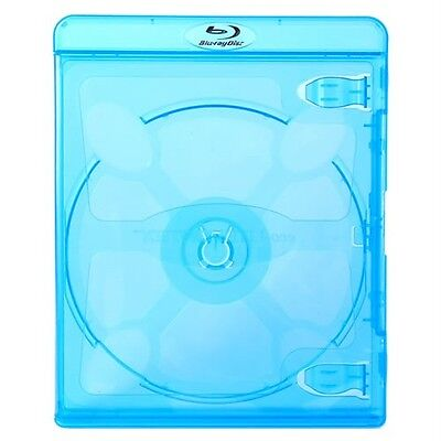 NEW! 5 VORTEX eco-LITE Blu-ray 2-Disc Cases Double - Holds 2 Discs