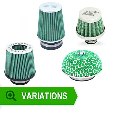 New Performance Air Filter Choice Style Diameter 65mm 70mm 76mm 89mm Free Post