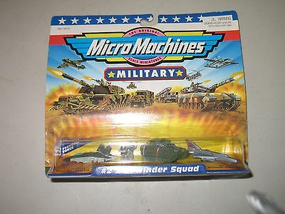 Micro Machines Military #2 Sidewinder Squad 1998 *FACTORY SEALED*