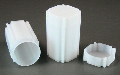 10 Square Coin Storage Tubes for 1oz American Gold Eagles by CoinSafe