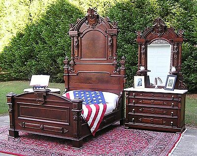 Historical Victorian President's Bedroom Set