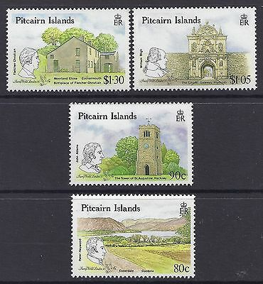 1990 Pitcairn Islands Links With The Uk Set Of 4 Fine Mint Mnh/muh