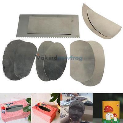 10Pcs Stainless Steel Graver Pottery Clay Sculpture Ceramic Arts Crafts Tools VF