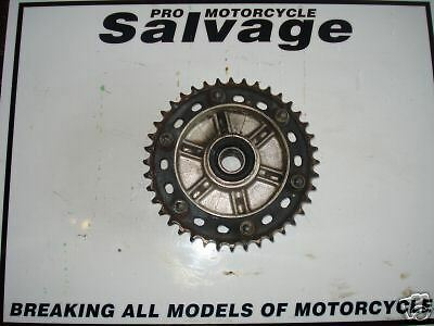 Honda Vtr 1000 2002 - 2008 Sp2:sprocket And Carrier - Rear:used Motorcycle Parts