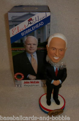 Rarely Seen! JOHN McCAIN Presidential Election Bobblehead Bobble