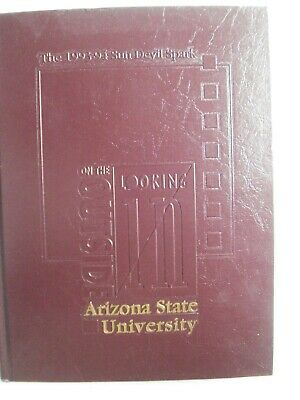 1993-1994 Arizona State University Yearbook Year Book On The Outside Looking In
