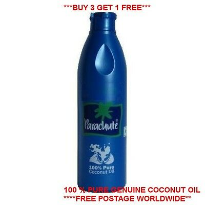 Parachute Coconut Oil Edible For Hair Skin Cooking- 100% Pure Indian 250 ml