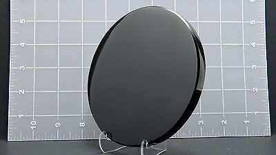 "Obsidian Mirror 5"", Hand Crafted"