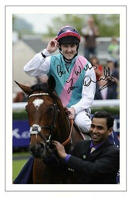 Tom Queally Frankel Autograph Signed Photo Print Poster Horse Racing