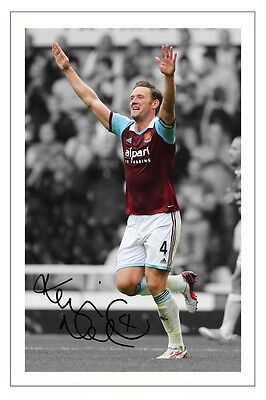 Kevin Nolan West Ham United Utd Autograph Signed Photo Print Soccer