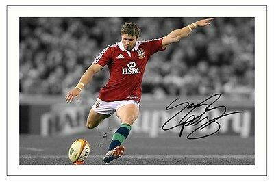 Leigh Halfpenny Rugby 2013 British Lions Signed Autograph Photo Print