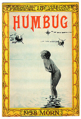 Humbug #7 6.0 Cream To Off-White Pages Silver Age Mad