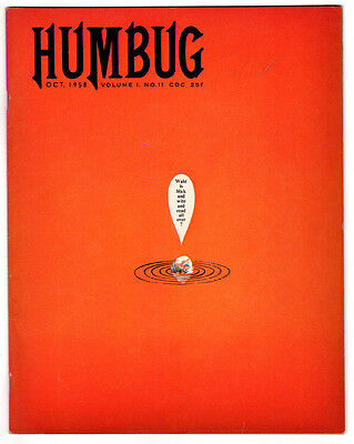 Humbug #11 6.5 Tan To Cream Pages Silver Age Mad