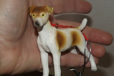 Jack Russell Terrier  DOG Christmas  ORNAMENT Detailed, Figurine Seasons Midwes