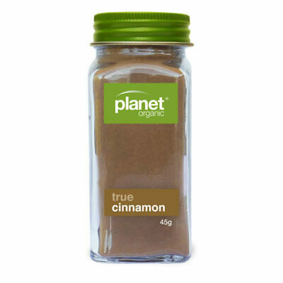 Certified Organic TRUE CINNAMON CEYLON (Ground) Powder Herb Spice - Premium