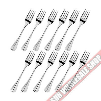 STANLEY ROGERS Baguette 12 Piece Fruit Fork Set 18/10 Stainless Steel!