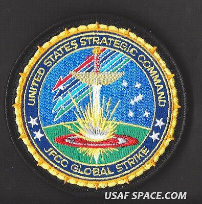 Authentic - United States Strategic Command - Jfcc - Global Strike - Usaf Patch